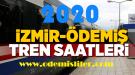 İzmir Ödemiş Yeni Tren Seferleri 2020