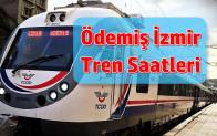 Ödemiş İzmir Tren Saatleri 2021